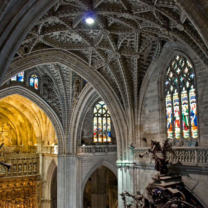 Bóvedas Catedral de Sevilla