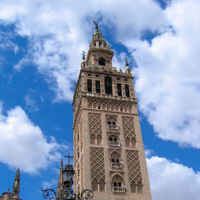Altura de La Giralda de Sevilla