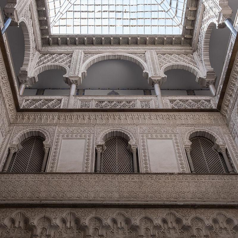 Patio de Muñecas del Real Alcázar de Sevilla