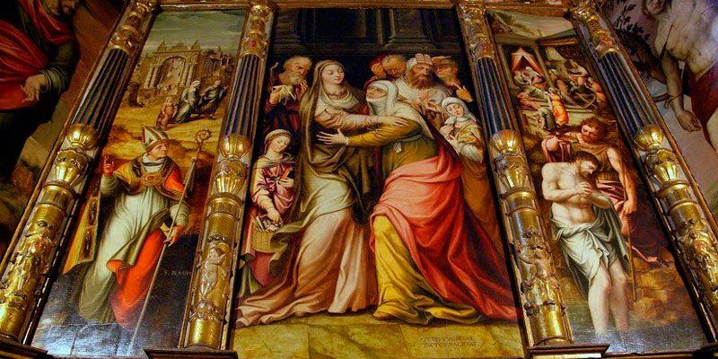 Altar de la Visitación