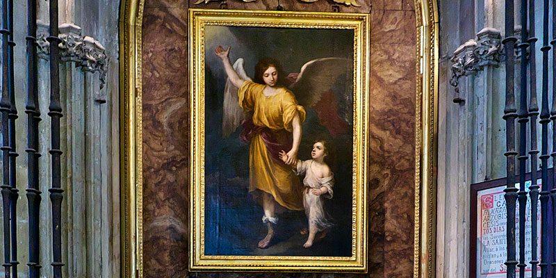 Ángel de la Guarda Catedral de Sevilla
