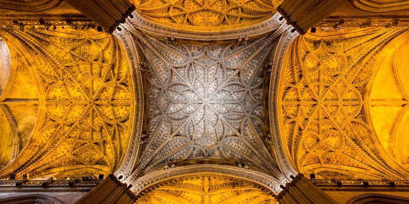Bóveda Crucero de la Catedral de Sevilla