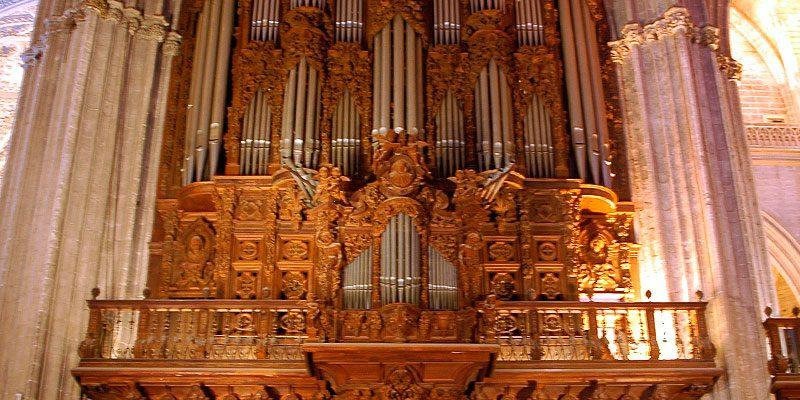 Frontal del Órgano de la Catedral