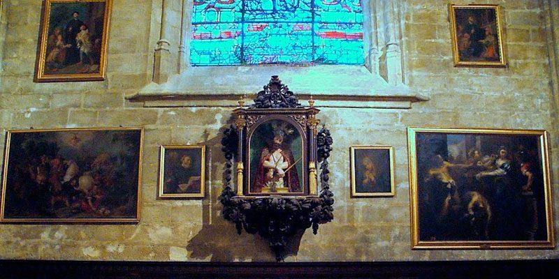 San Francisco en la Catedral de Sevilla