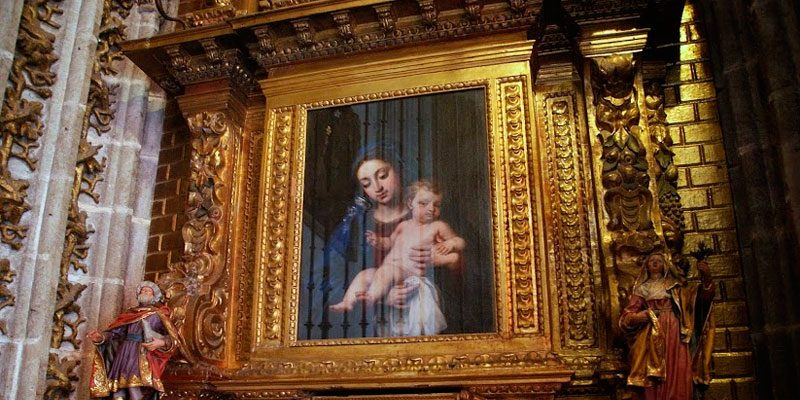 Señora del Belén Catedral de Sevilla
