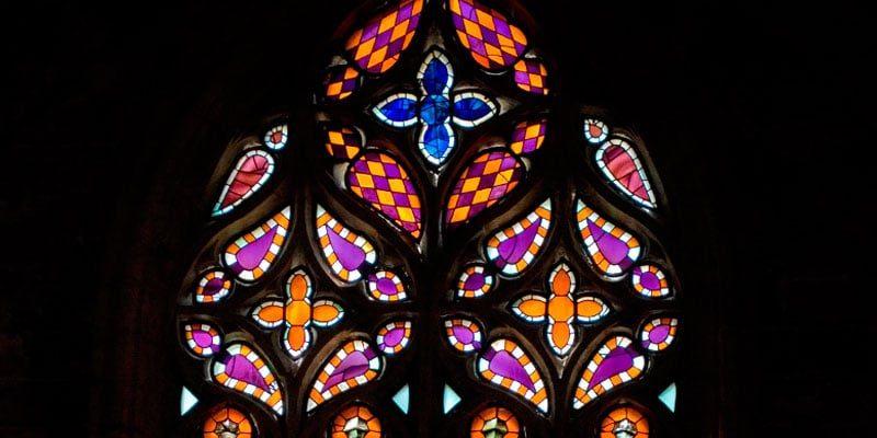 Vidriera Gótica de la Catedral de Sevilla